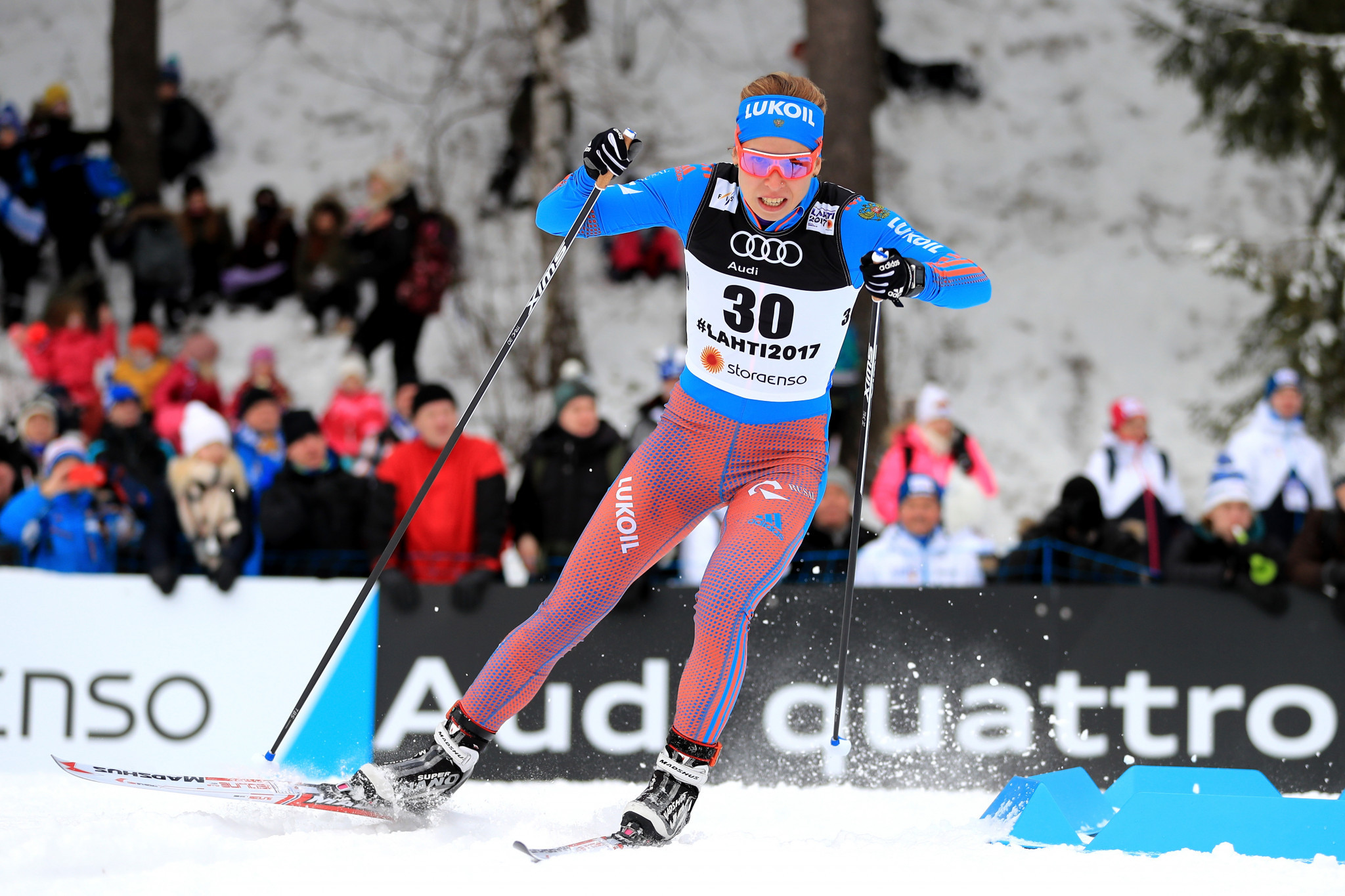 Russian cross-country skier Polina Kovaleva is set to have her suspension reduced by RUSADA ©Getty Images