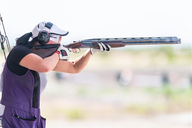 Finland's Marika Salmi secured her first ISSF World Cup gold medal ©ISSF