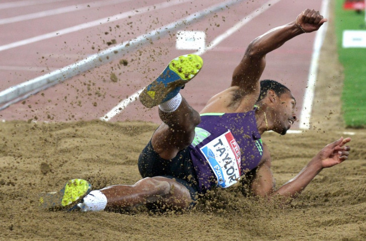 Christian Taylor, world triple jump champion shared top spot as the highest male prize money earner in the 2015 IAAF Diamond League series as he and Polish discus thrower Piotr Malachowski finished joint  fifht along with Sifan Hasan of the Netherlands on $93,000 ©Getty Images