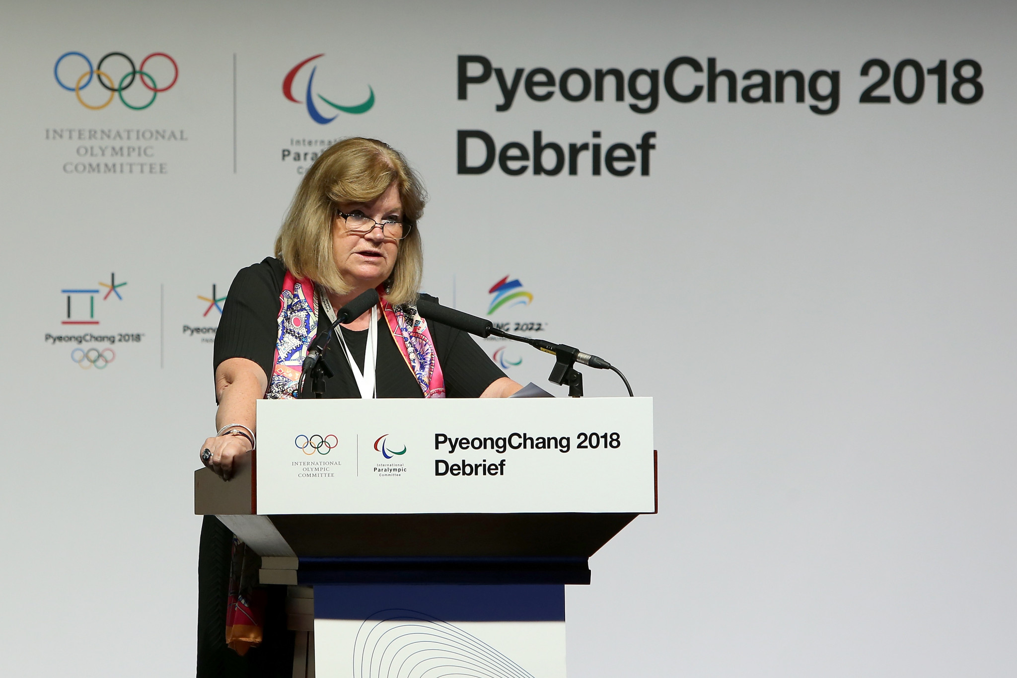 Claim that Pyeongchang 2018 had generated a multi-million dollar surplus two years after facing a multi-million dollar deficit came at the Pyeongchang 2018 debrief in Beijing last month ©Getty Images