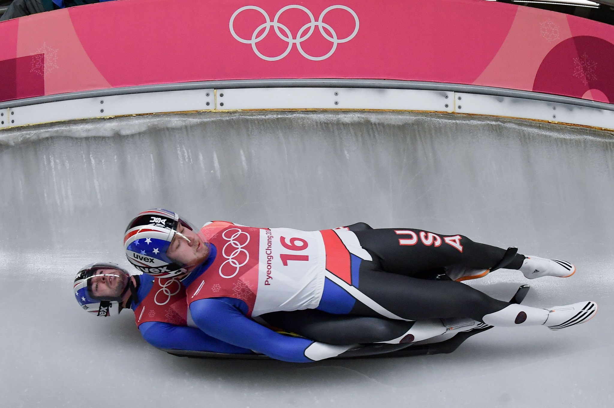 Women's doubles does not currently have a place on the Winter Olympic programme ©Getty Images