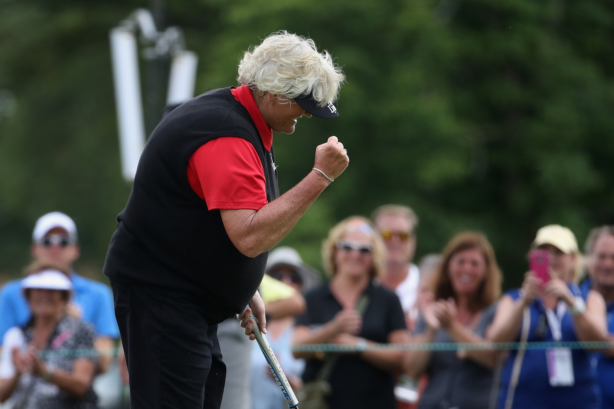 Laura Davies will compete in the team competition next month ©Getty Images