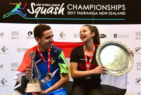 Egyptians Marwan Tarek and Rowan Reda Araby have been confirmed as top seeds for the event ©WSF