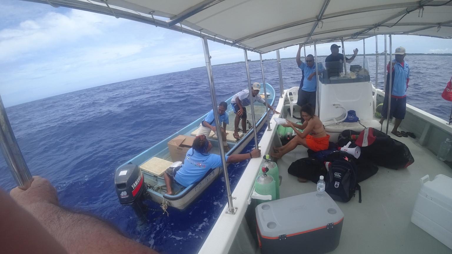 Guam earn team spearfishing title at Micronesian Games