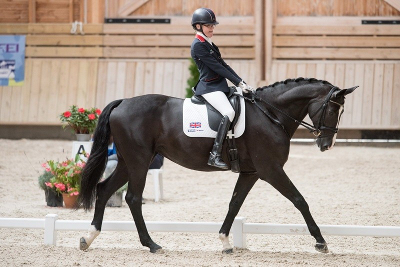 Britain earn narrow advantage over The Netherlands in European Para-equestrian Dressage Championship team competition