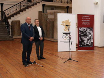 Bulgarian Olympic Committee secretary general launches new book on wrestling