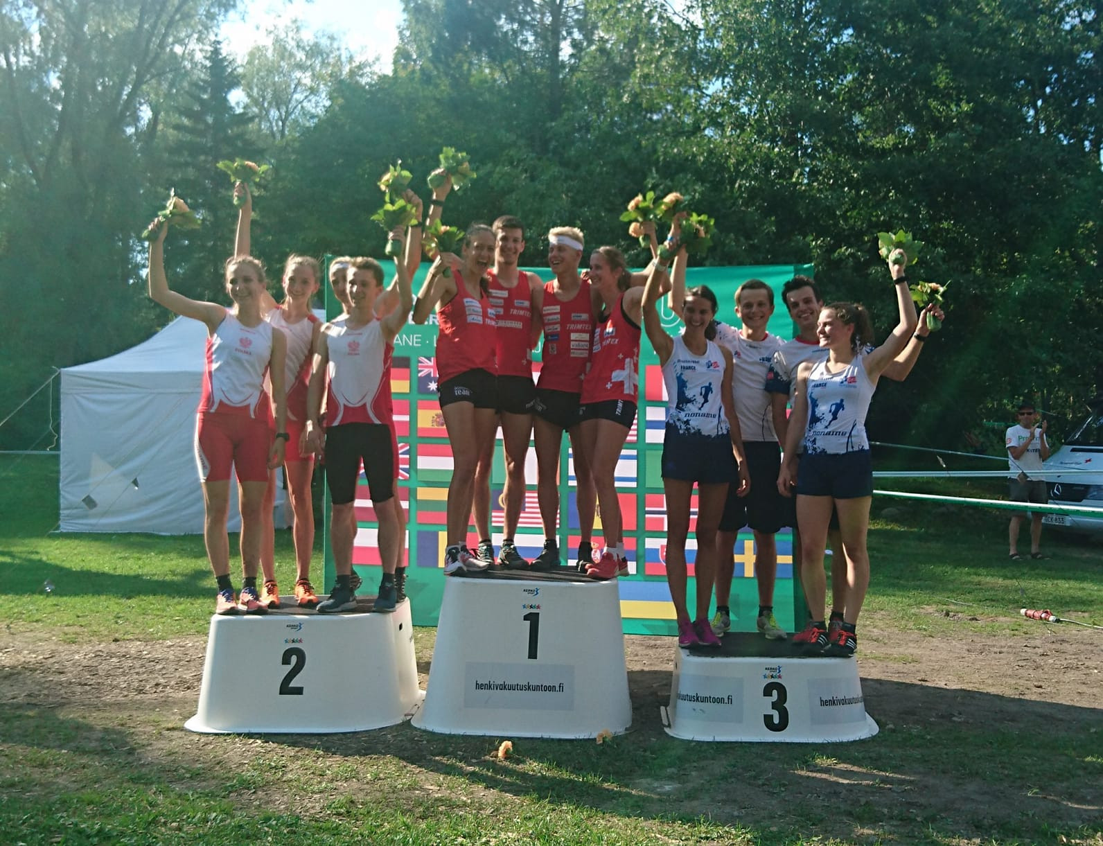 Switzerland earned sprint relay gold on the first day of action at the World University Orienteering Championships ©Facebook/WUC Orienteering 2018