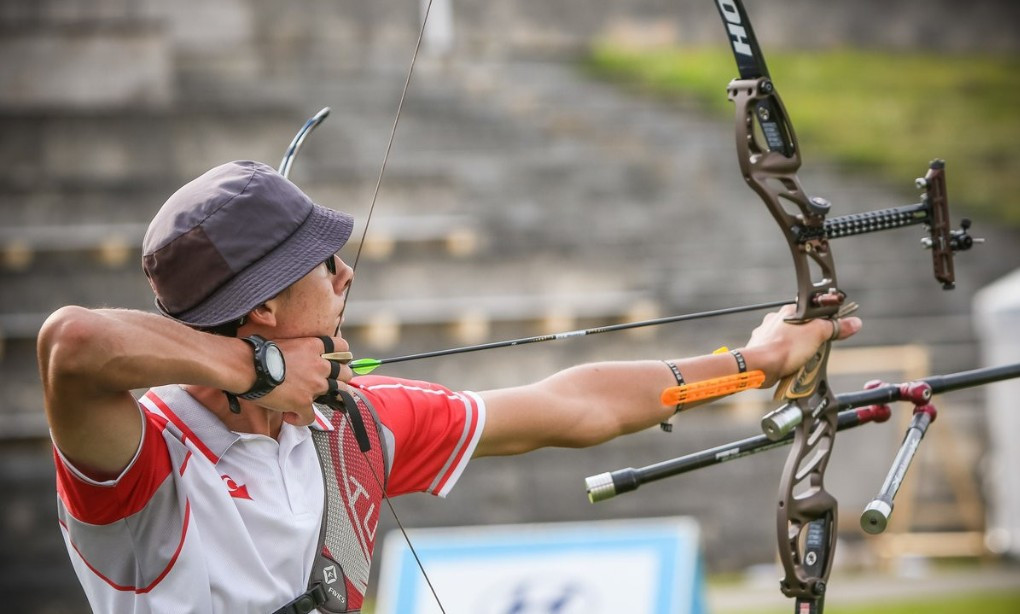 Gazoz claims top seeding for first time at Archery World Cup in Berlin