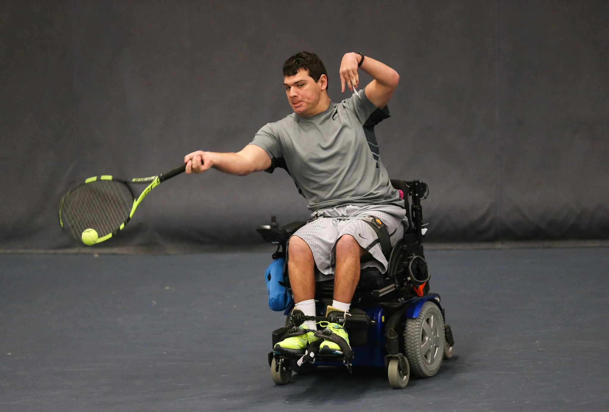 Mixed day for home players on opening day of British Open Wheelchair Tennis Championships