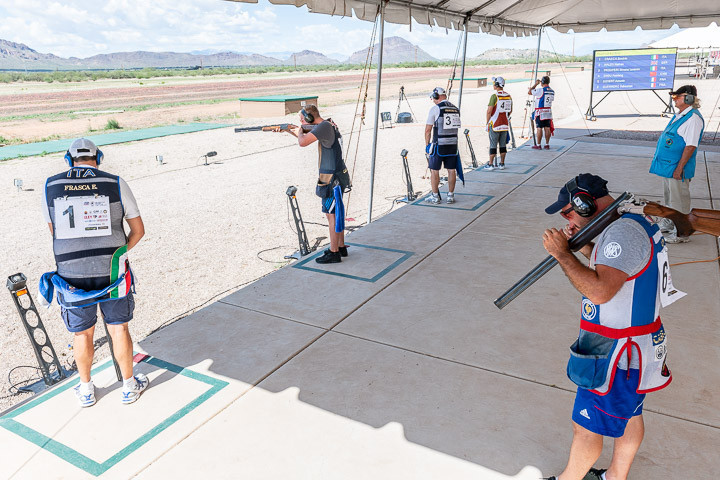 The final saw the two Italian shooters go head-to-head ©ISSF