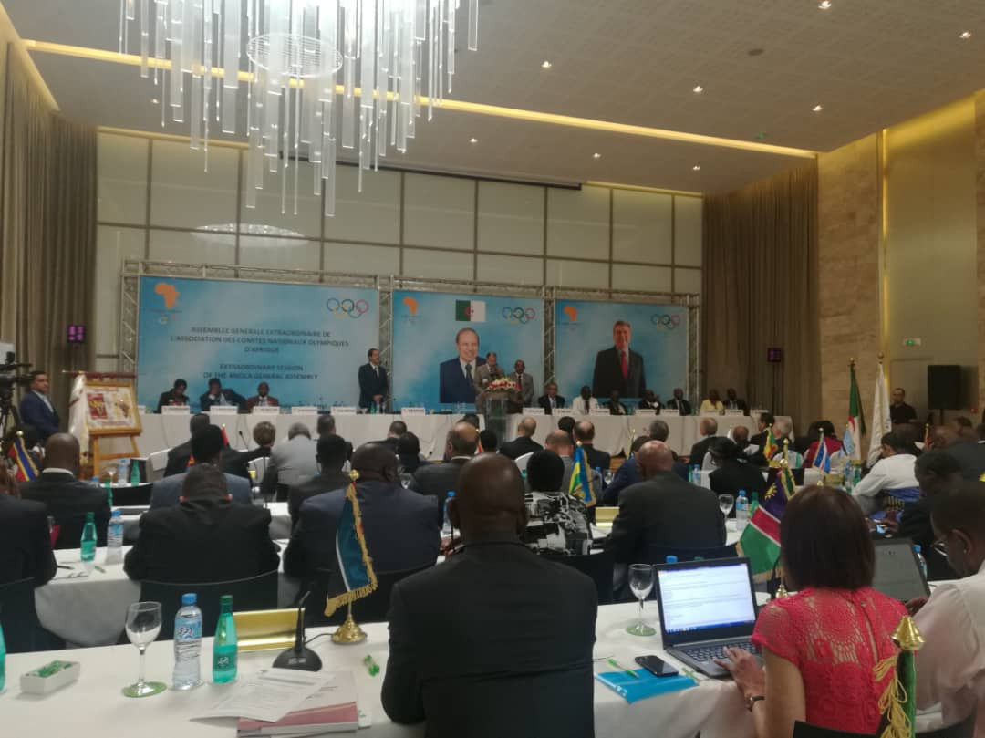 Approval was given at ANOCA's Extraordinary General Assembly in Algiers ©Facebook