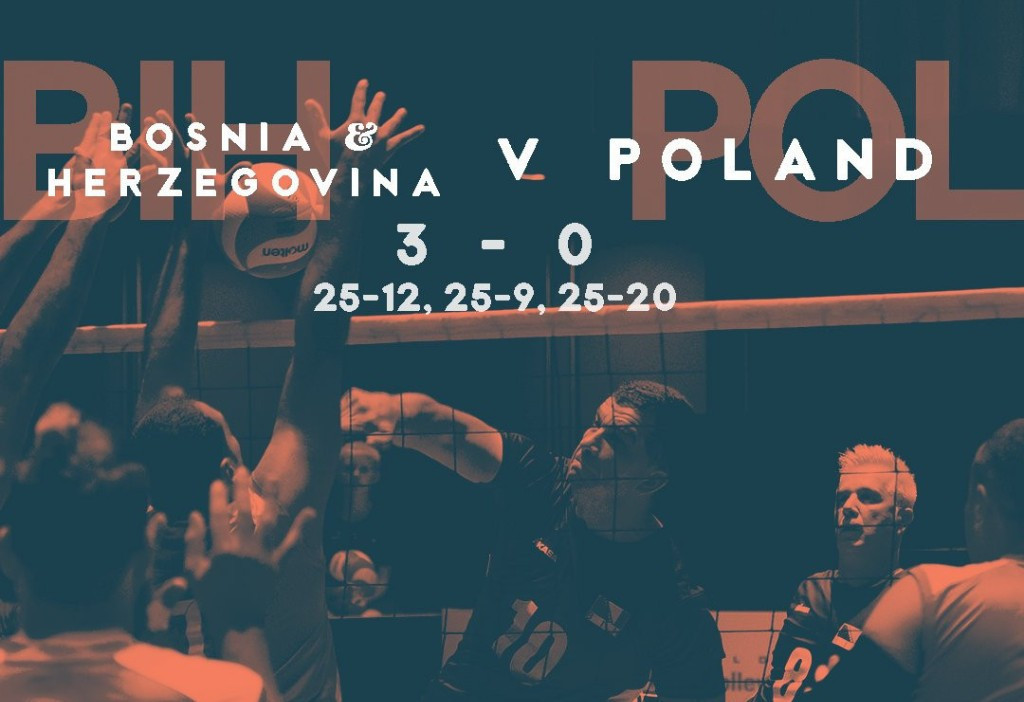 Bosnia and Herzegovina earned their third straight victory in the pool stage ©World Para Volley