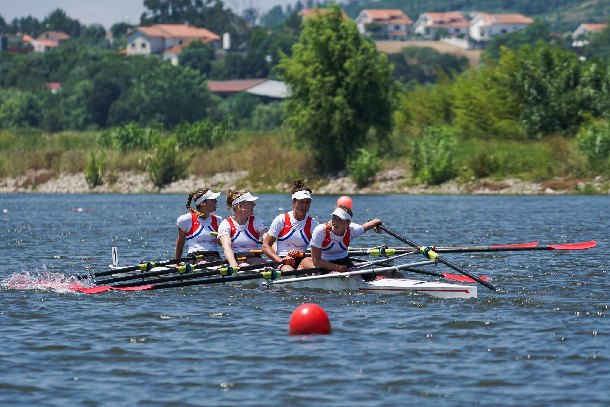 Reading University win two rowing golds at European Universities Games in Coimbra