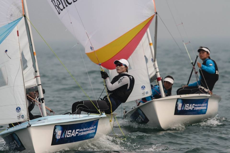 China utilise mathematical advantage at ISAF World Cup to seal Olympic finn berth