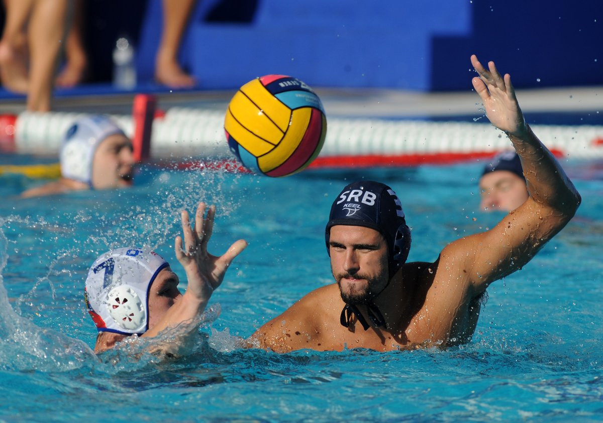 Olympic gold medallists Serbia safely through to quarter-finals at men's European Water Polo Championships