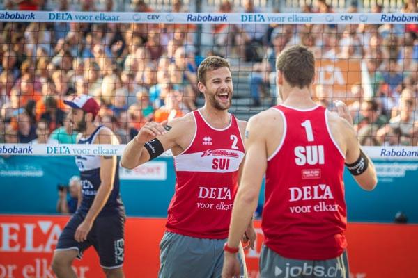 Defending men's champions beaten at European Beach Volleyball Championships