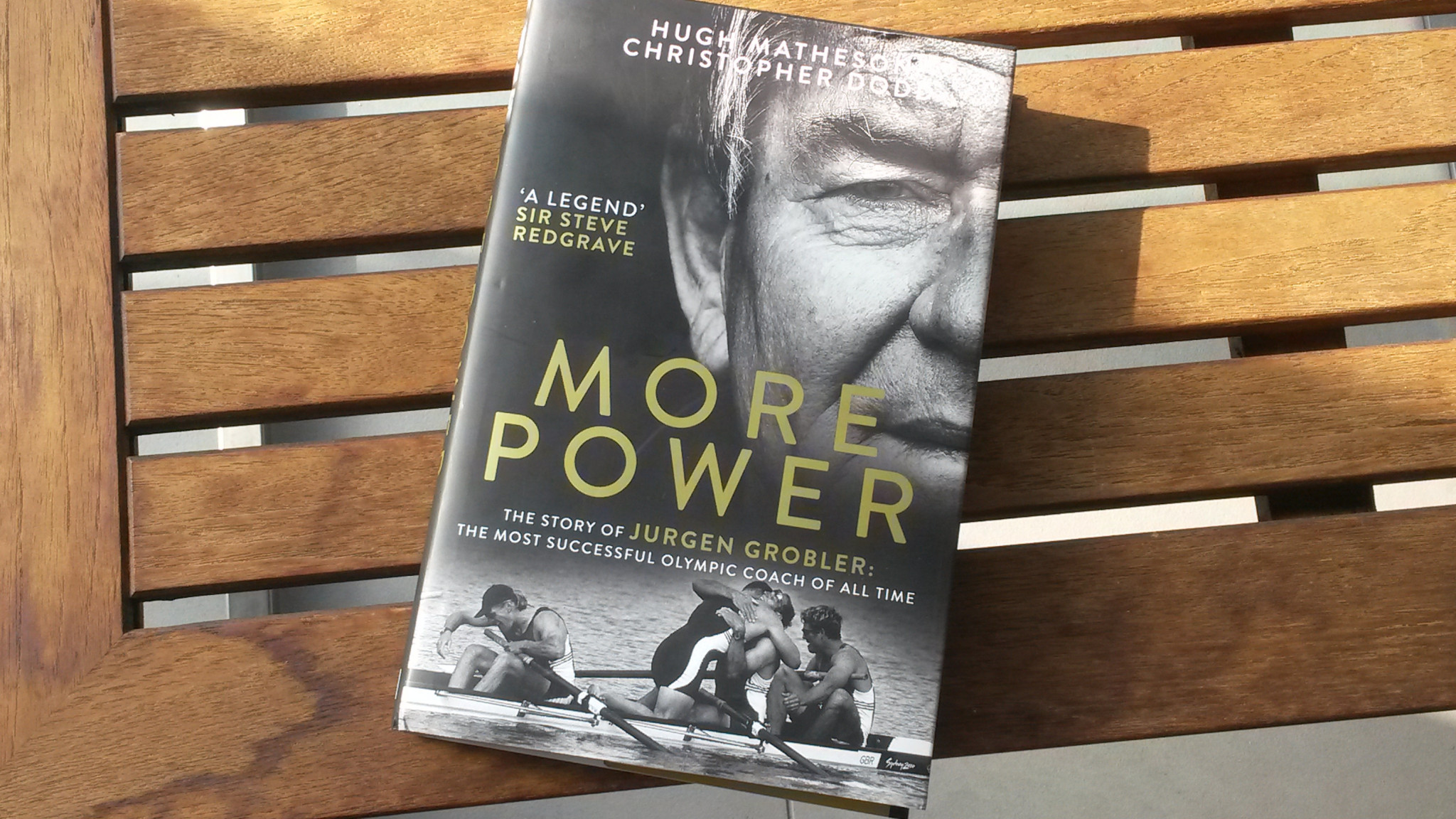 Former Olympic rower Hugh Matheson and journalist and sport historian Chris Dodd have produced a hugely knowledgeable new account of Grobler's life in sport, from his years within the East German system to his second challenge within British rowing ©ITG