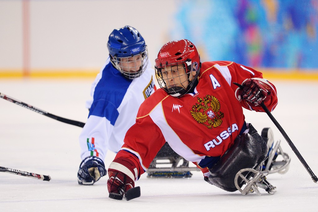 Russia recover from opening defeat to boost qualification hopes at IPC Sledge Hockey World Championships
