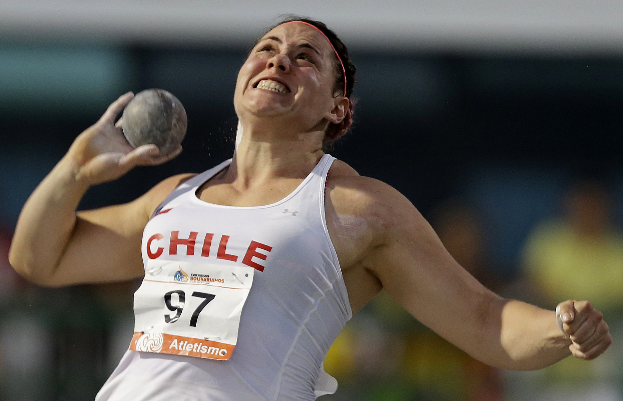 Chilean shot putter suspended after testing positive for banned substance