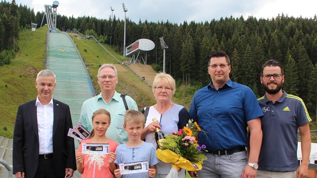 Popular ski jumping and Nordic combined venue welcomes one millionth visitor