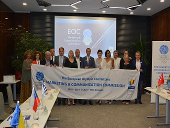 EOC Marketing and Communication Commission host meeting in Romania