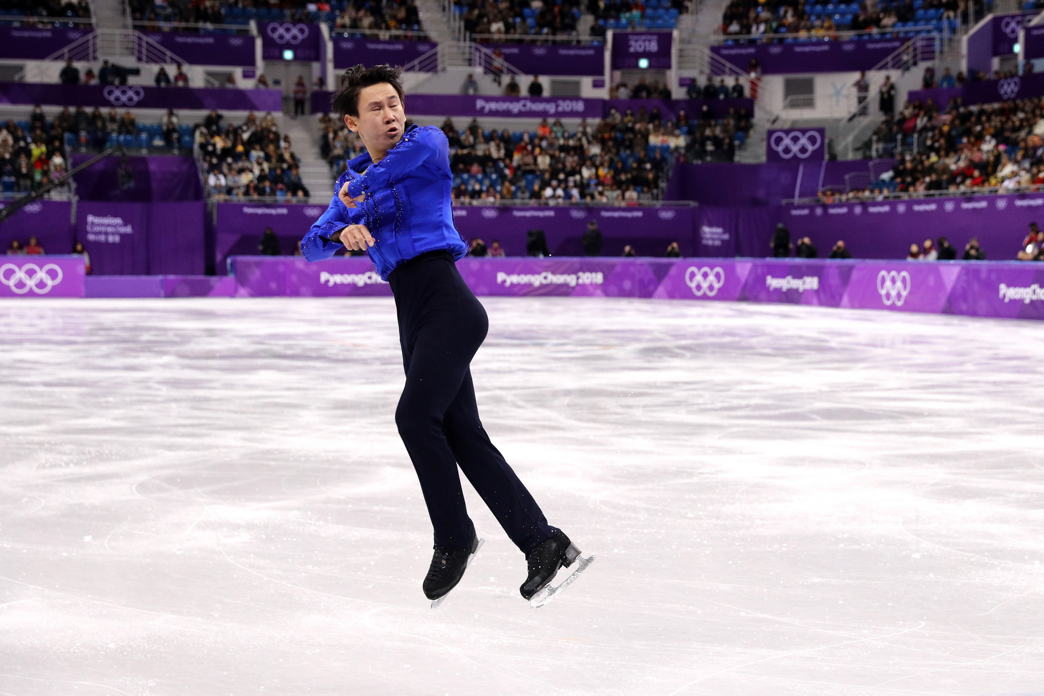 The Kazakh athlete competed at the 2018 Winter Olympic Games in Pyeongchang ©Getty Images