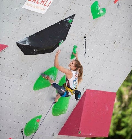 Pilz and Garnbret to renew rivalry at IFSC World Cup in Briançon