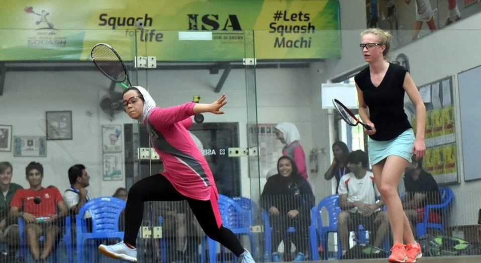 The women's tournament began in Chennai ©WSF