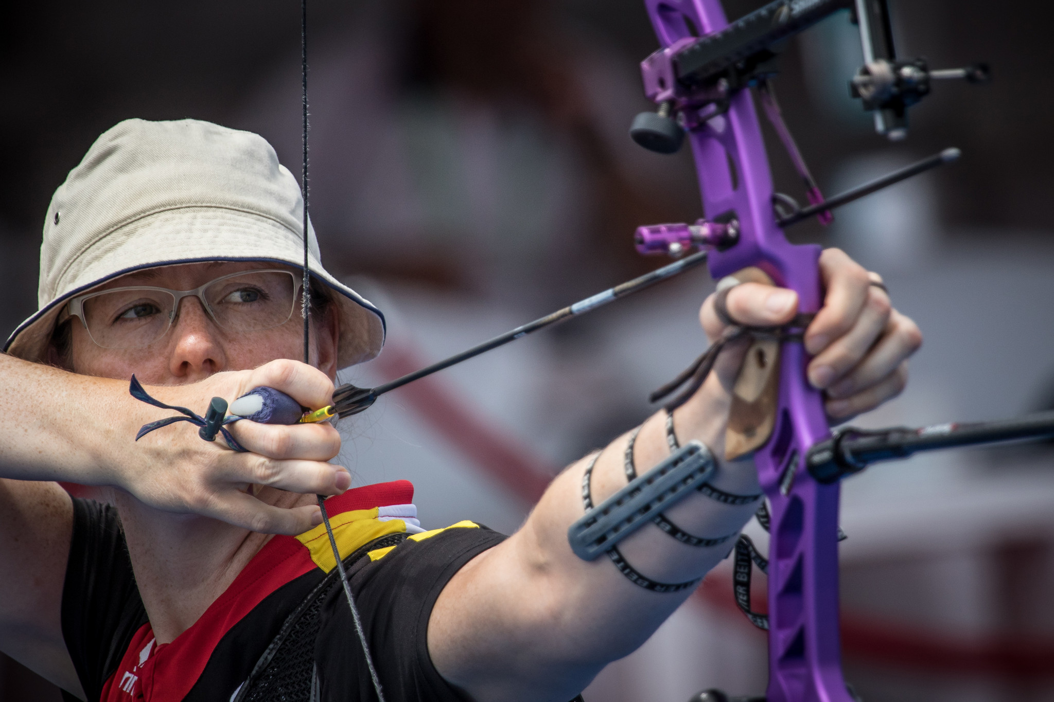 Unruh reaches home final at Archery World Cup in Berlin