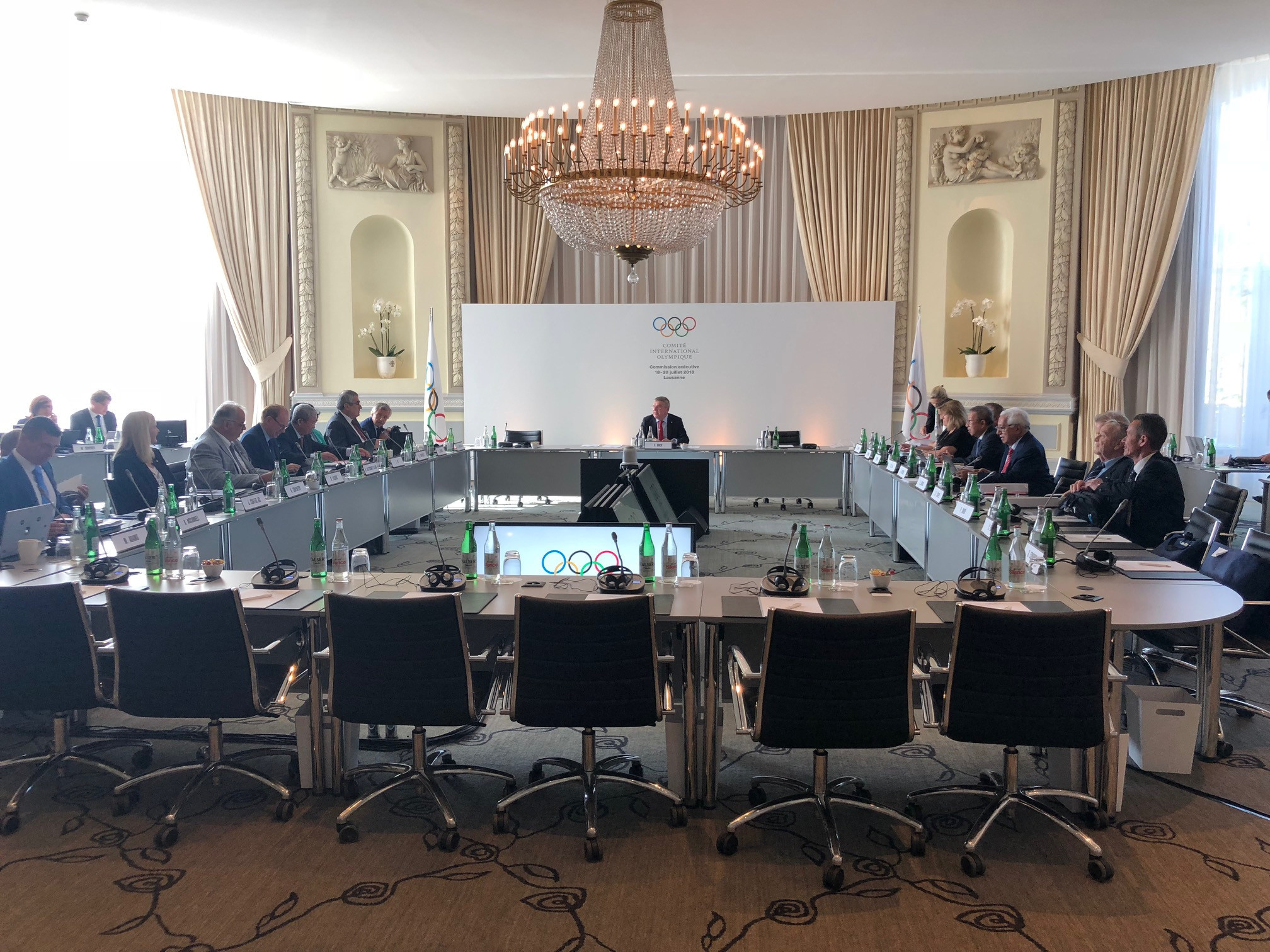 The IOC Executive Board maintained the status of the IWF and AIBA today ©ITG