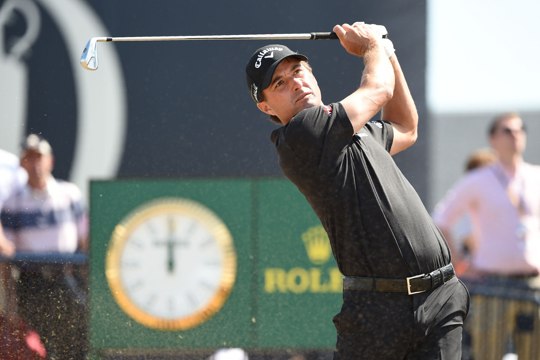 American Kisner leads after first day at The Open