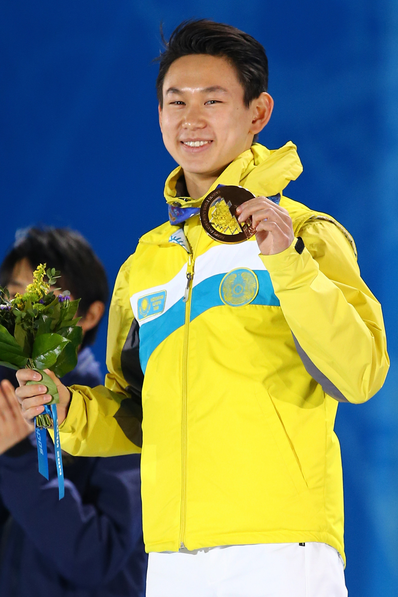 Denis Ten won bronze for Kazakhstan at the Sochi 2014 Winter Olympic Games ©Getty Images