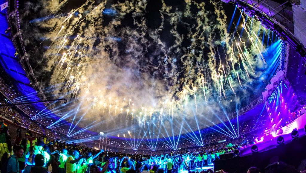 Spectacular Opening Ceremony marks start of Barranquilla 2018 Central American and Caribbean Games