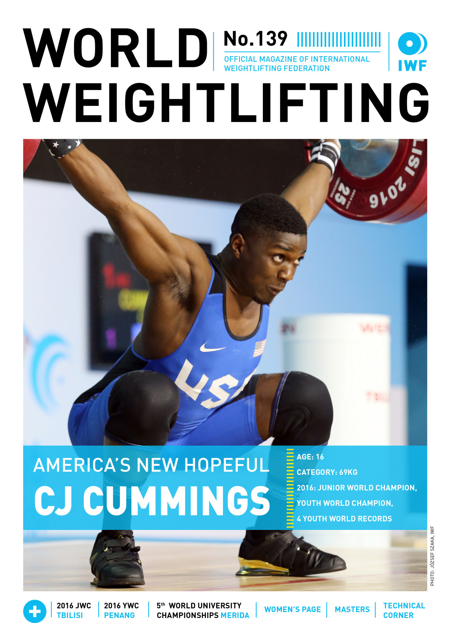 World Weightlifting Magazine No. 139