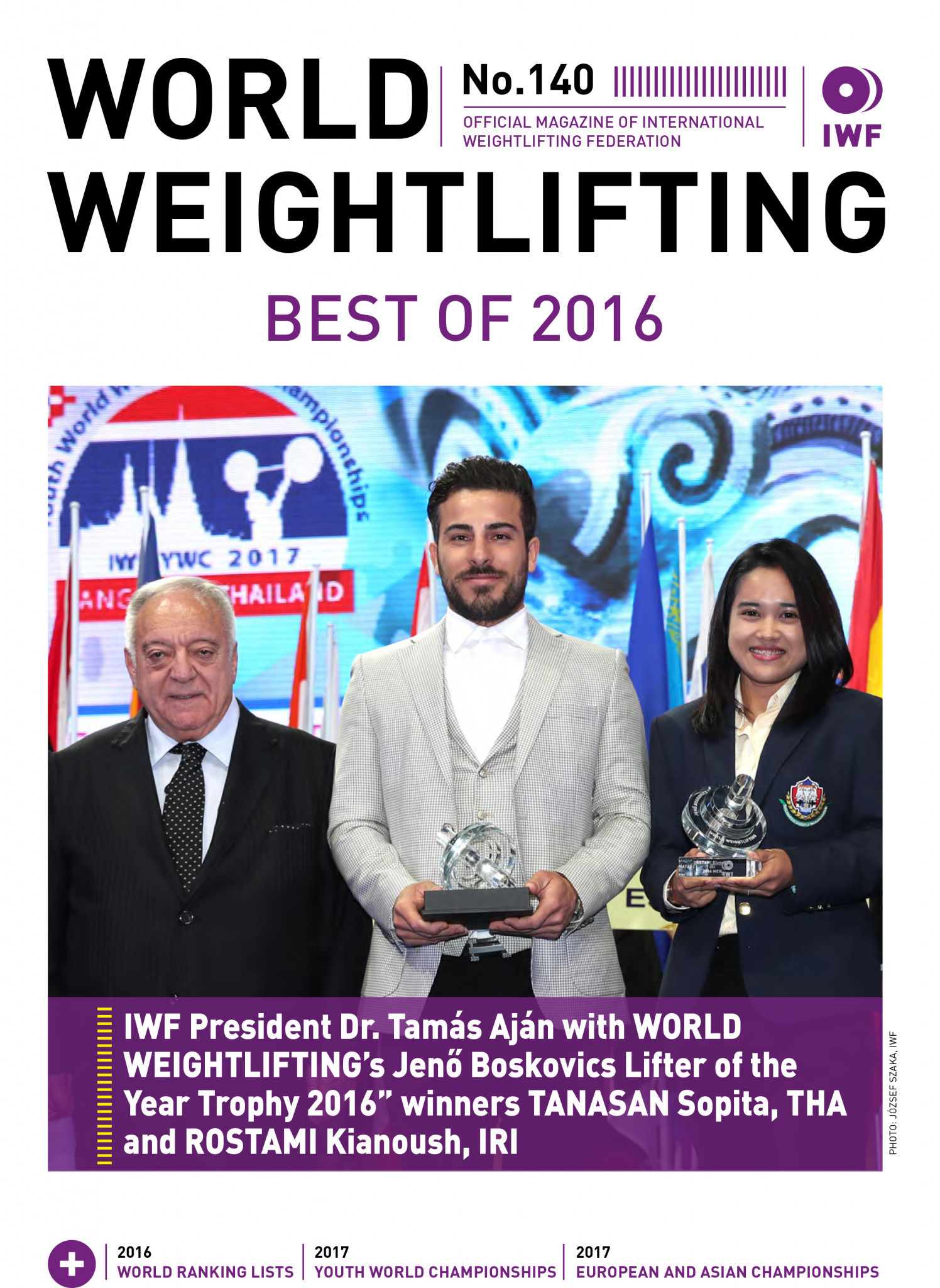World Weightlifting Magazine No. 140