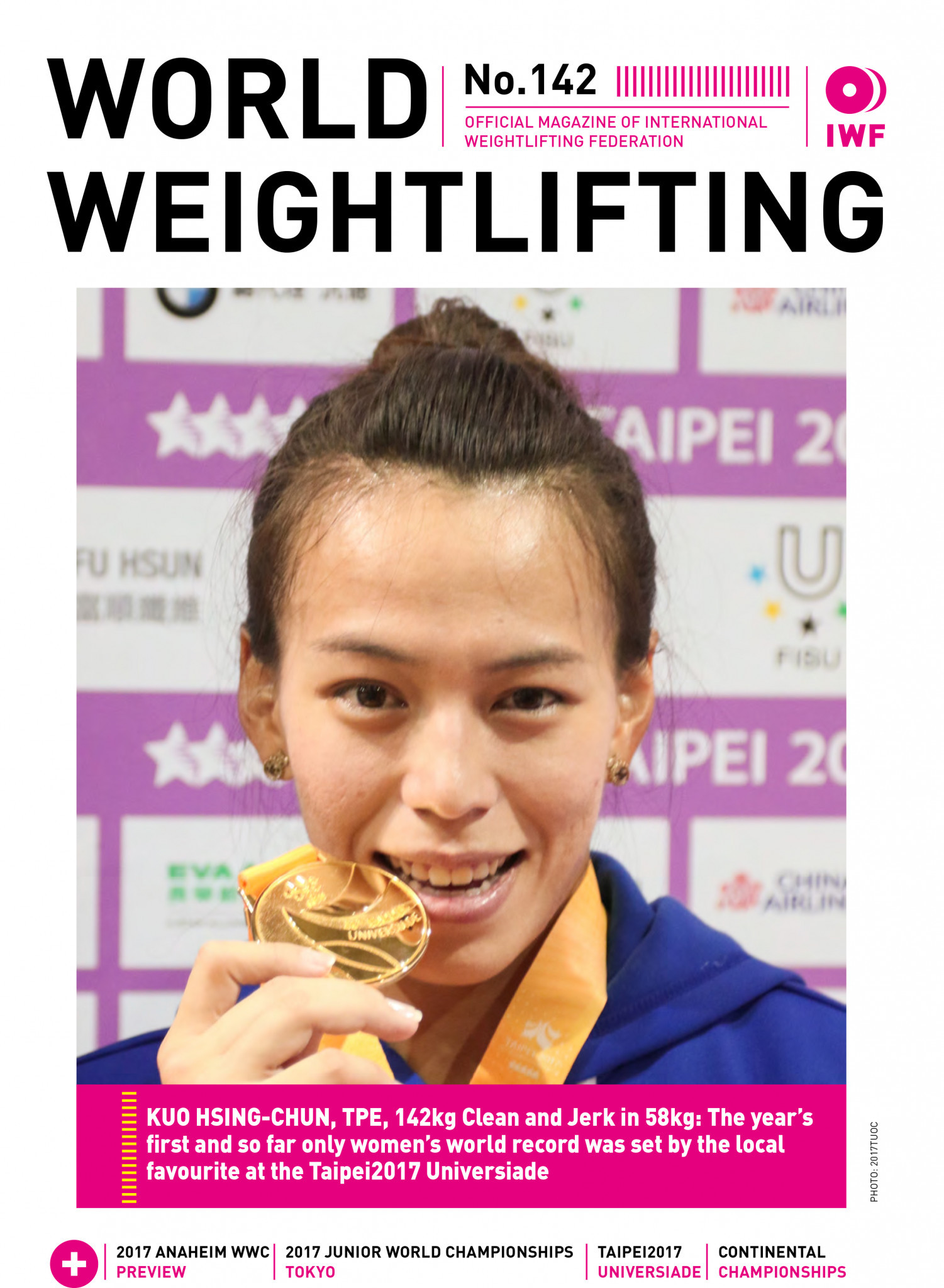World Weightlifting Magazine No. 142