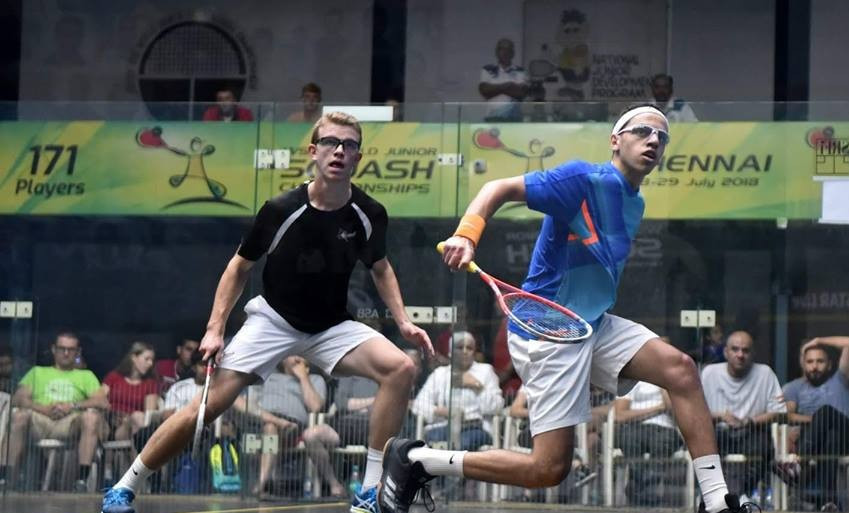 Egyptian seeds continue winning run at World Junior Individual Squash Championships