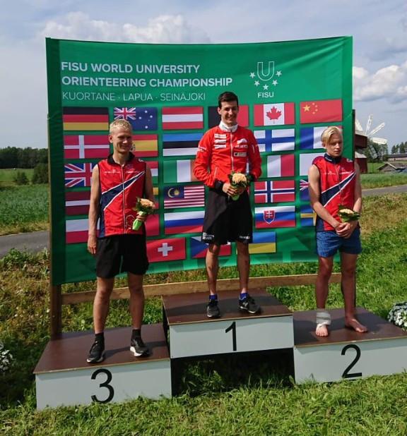 Switzerland and Norway strike long-distance gold at World University Orienteering Championships