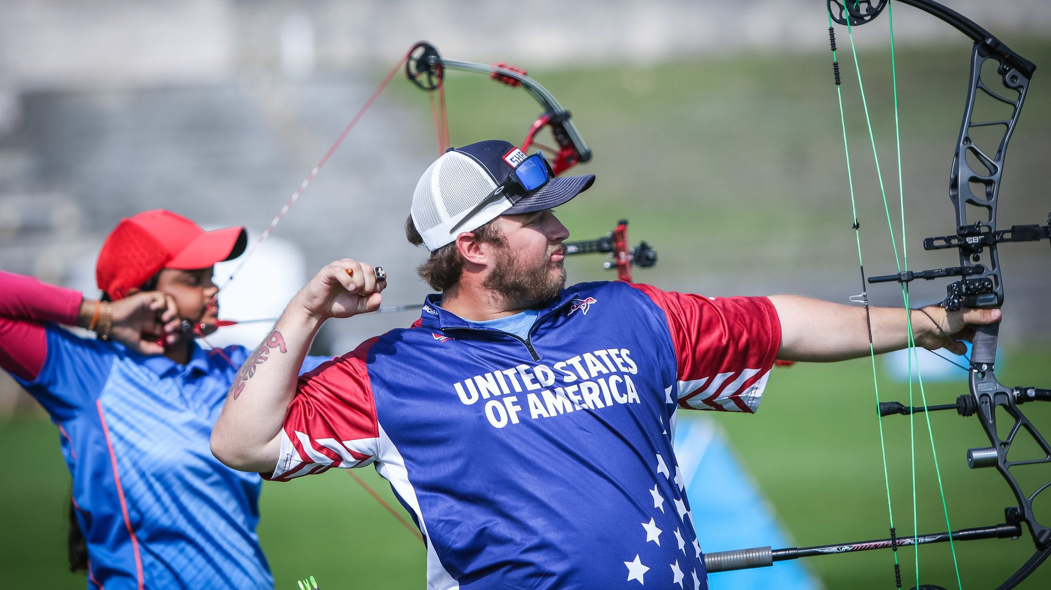United States secure first mixed compound medal of Archery World Cup season