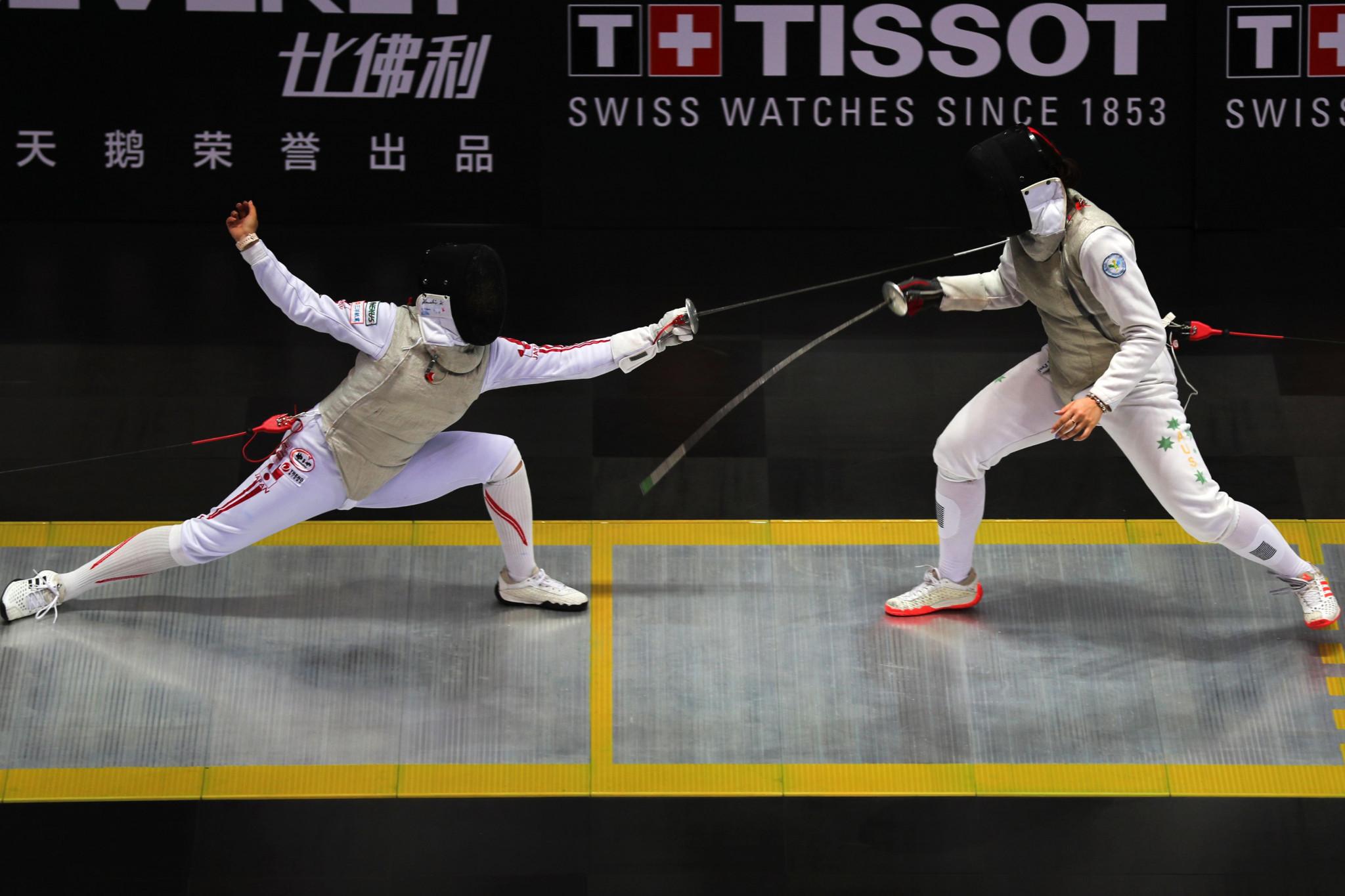 Home quartet impress in women's foil at World Fencing Championships