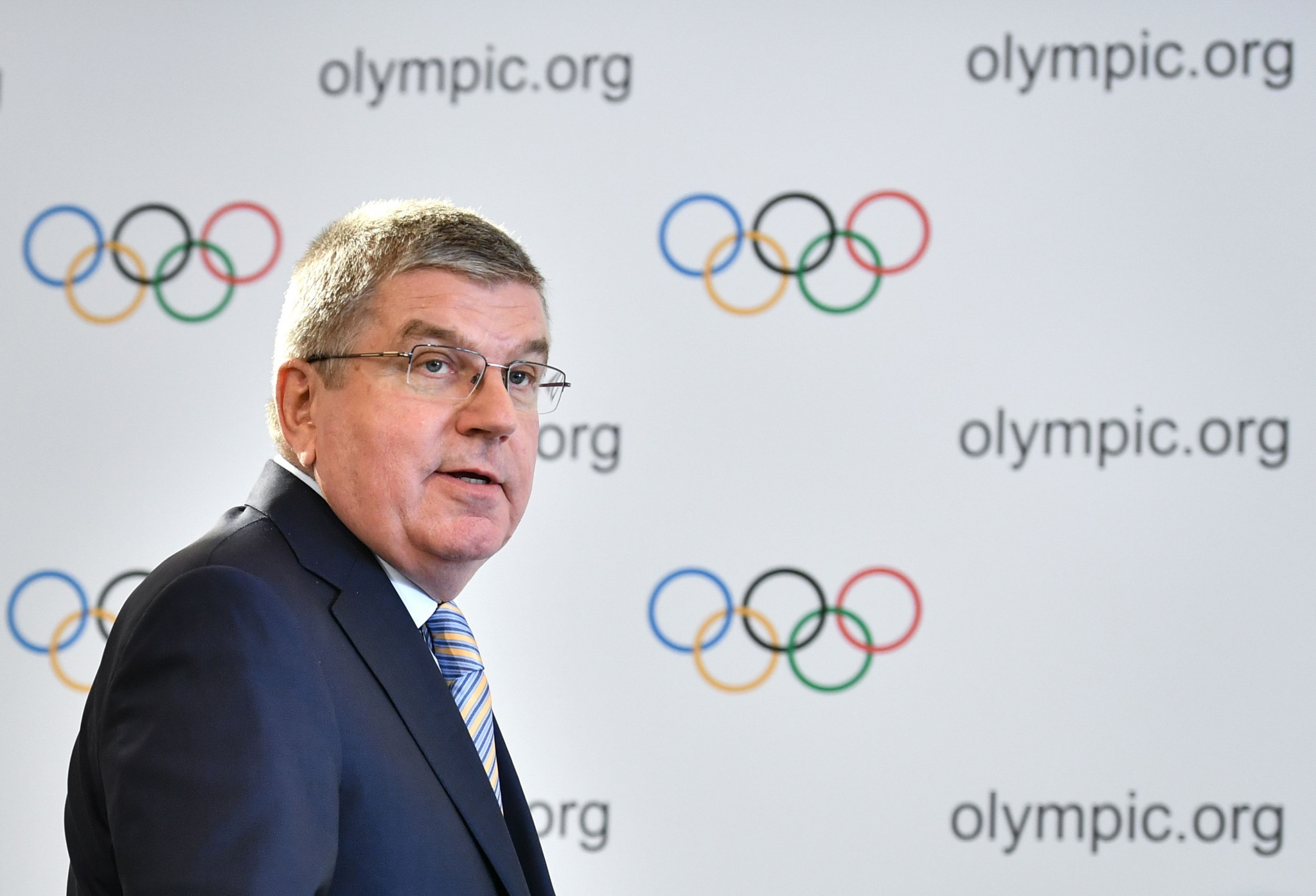 IOC President Thomas Bach addressed the ongoing issues within AIBA and the IWF ©Getty Images