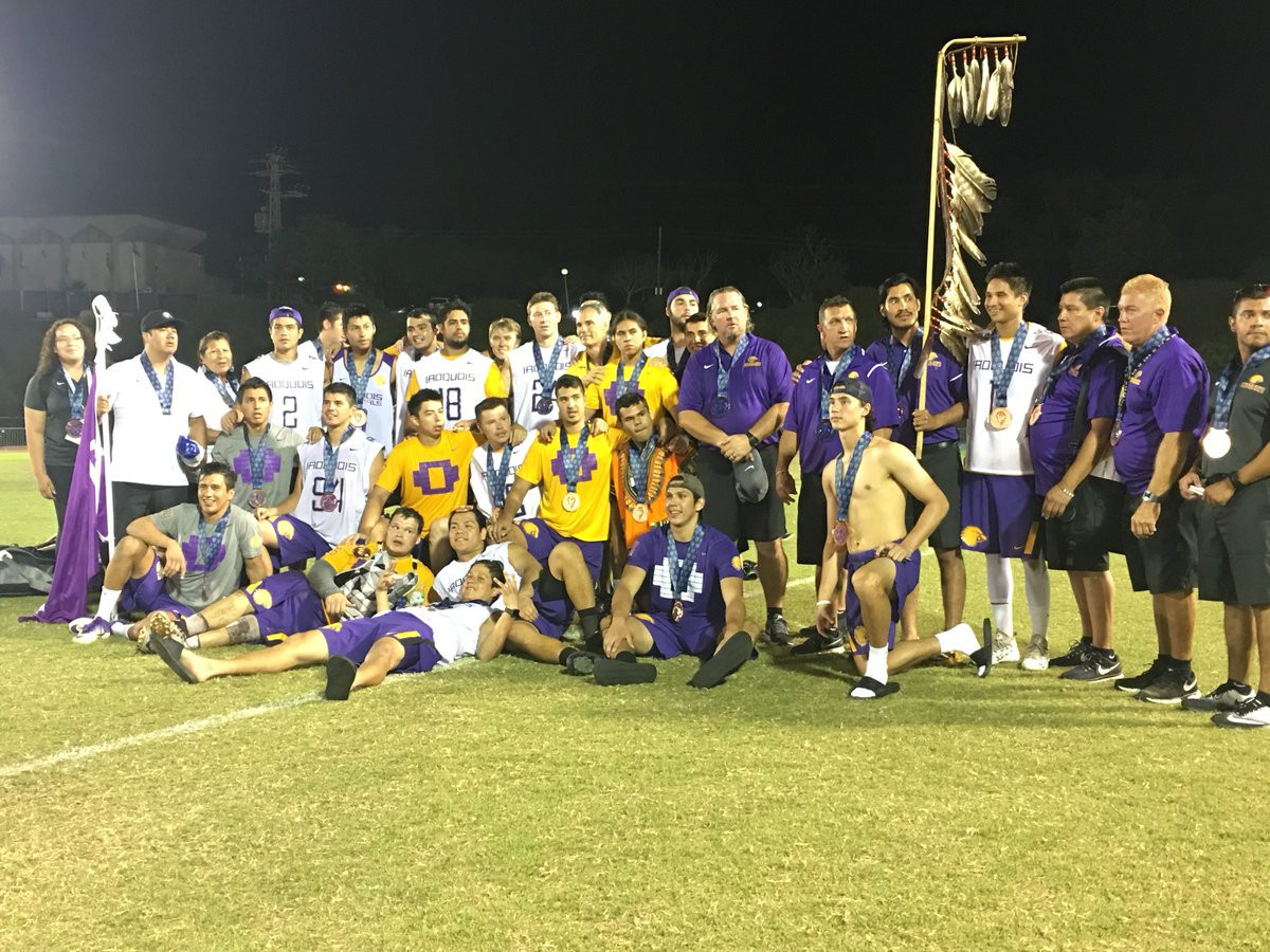 The Iroquois nation beat Australia today to claim the bronze medal at the 2018 Men's World Lacrosse Championships in Israel ©FILacrosse/Twitter
