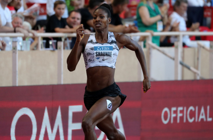 Olympic 400m champion Shaunae Miller-Uibo was pushed to her first sub 49-second time in a compelling race with 20-year-old Salwa Eid Naser of Bahrain at the Monaco Diamond League meeting ©Getty Images