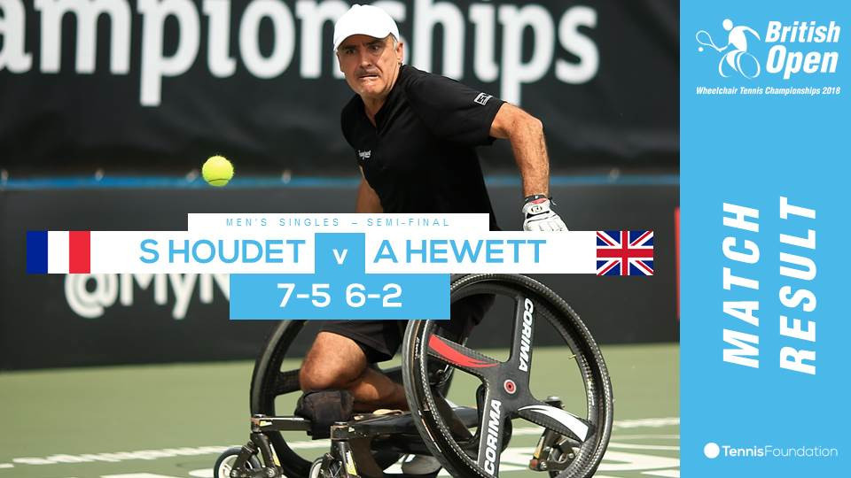 Wimbledon doubles champion Alfie Hewett lost in smei finals of men's singles of British Open Wheelchair tennis championships ©Twitter