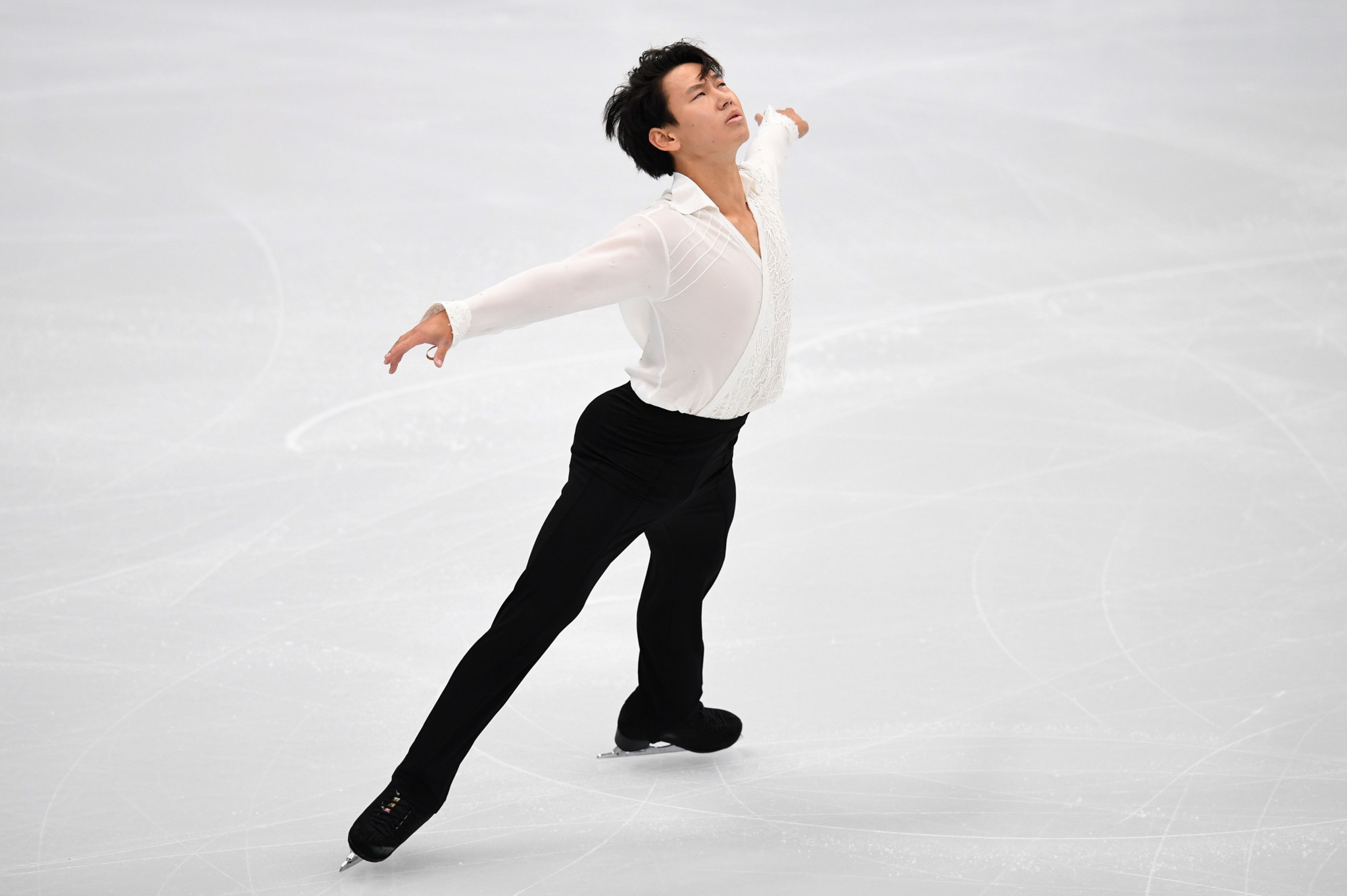 Denis Ten was stabbed to death in a knife attack in Almaty ©Getty Images