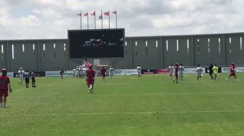 The United States beat holders Canada 9-8 in a thrilling final at the 2018 Men's World Lacrosse Championships in Israel ©FILacrosse/Twitter