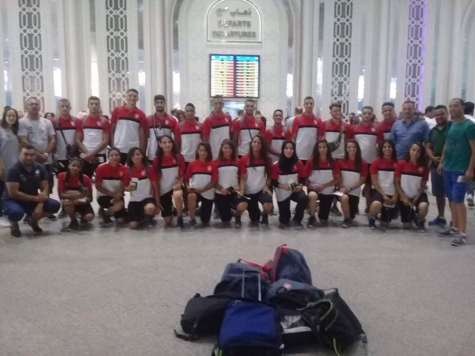 Tunisia earned victory in the women's rugby sevens competition ©Facebook/Tunisian Rugby Union