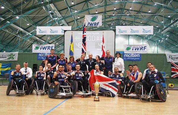 Britain claim European Wheelchair Rugby Championship gold after beating defending champions Sweden