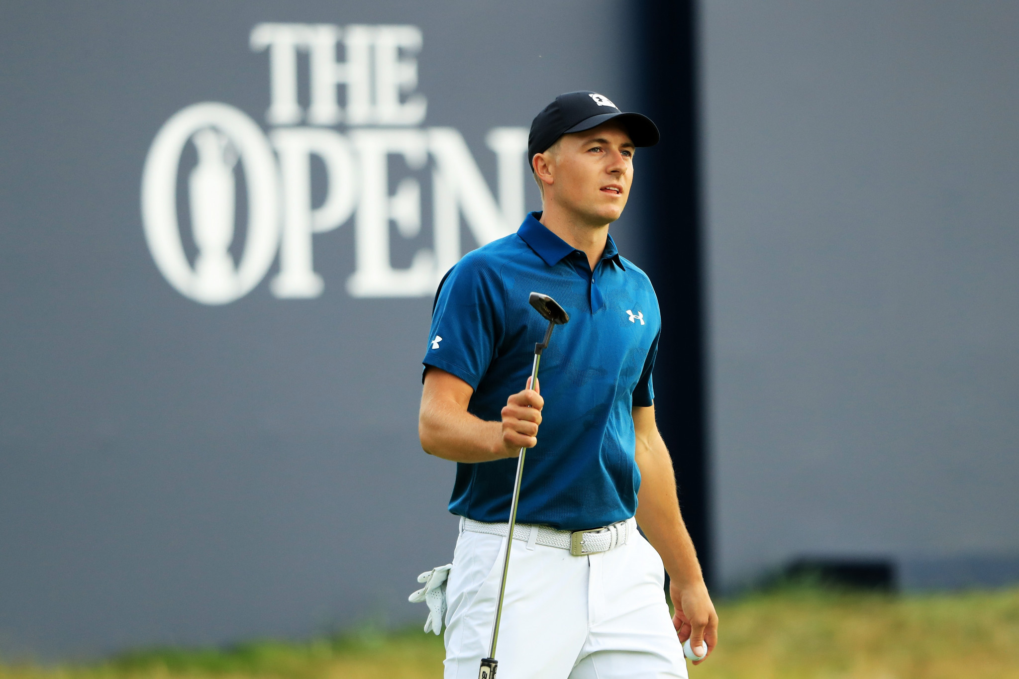 Defending champion Spieth shares lead going into final day of The Open but Woods still in contention