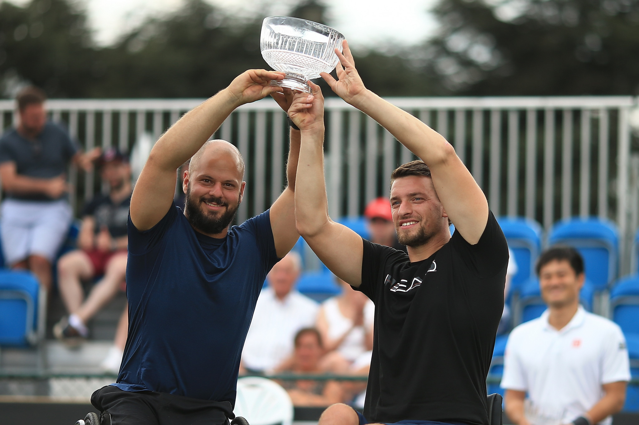 Wimbledon singles champion Stephan Olsson claims British Open Wheelchair Tennis doubles title